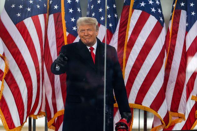 Donald Trump, ici à Washington aux États-Unis, le 6 janvier