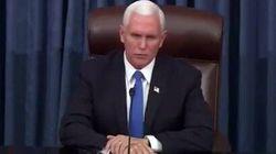 「暗黒の日だ」ペンス副大統領、議事堂乱入のトランプ支持者たちを強く非難。「暴力は決して勝利しない」