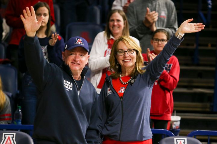 Former Rep. Gabrielle Giffords and newly elected Sen. Mark Kelly (D-Ariz.) have been married since 2007.