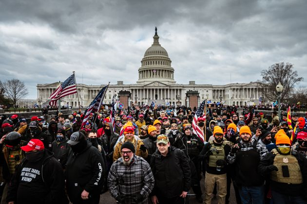 A mob of pro-Trump protesters descended on the U.S. Capitol, insisting the election had been
