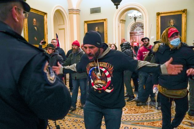 Pro-Trump rioters stormed the US Capitol on