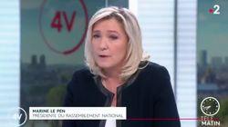 Après les violences au Capitole, Marine Le Pen admet la victoire de Joe