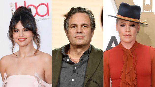 Selena Gómez, Mark Ruffalo y Pink son algunos de los famosos que se han pronunciado en contra del asalto...