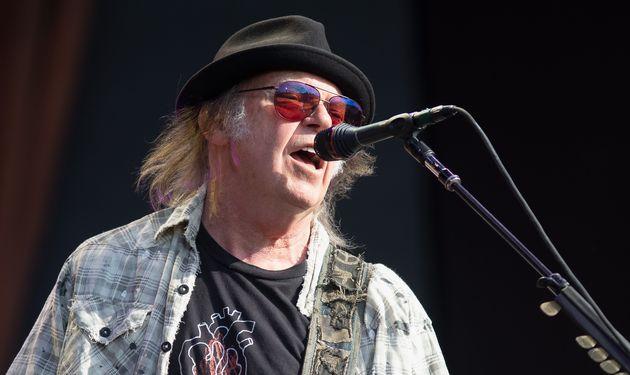 Neil Young, ici au mois de juillet