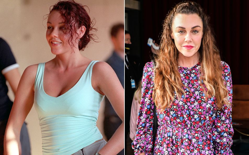 Michelle Heaton in 2001 and