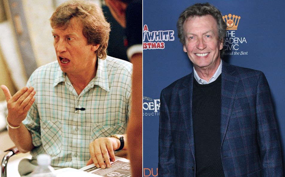 Former Popstars judge Nigel Lythgoe pictured in 2001 and
