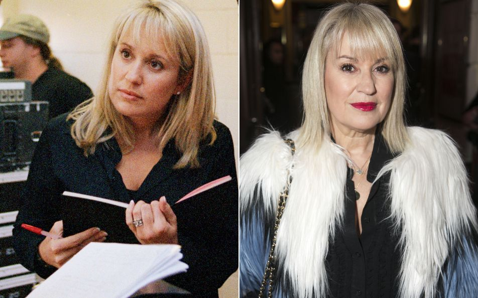 Nicki Chapman in 2001 and
