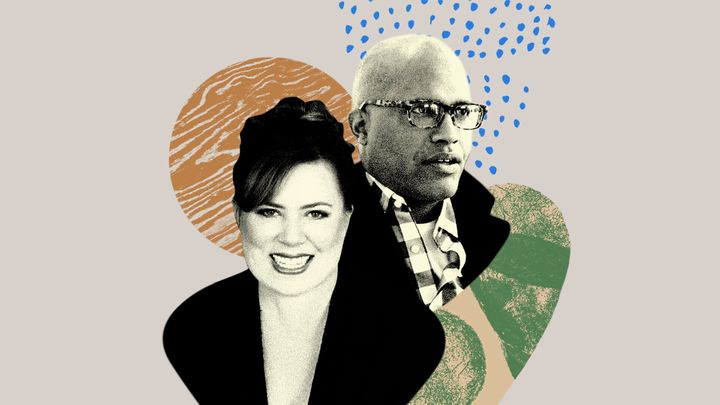 Illustration of Micheal Sparks and Kate Houck
