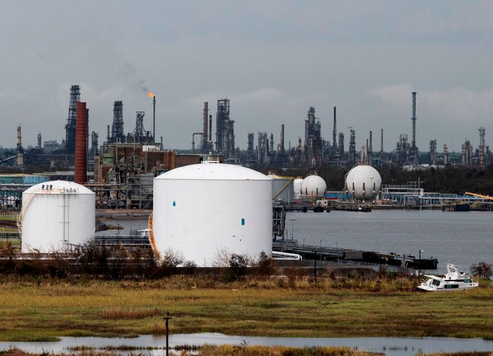An oil and gas processing plant in Lake Charles, Louisiana. Among the Trump-era regulations that a Democratic-controlled Cong