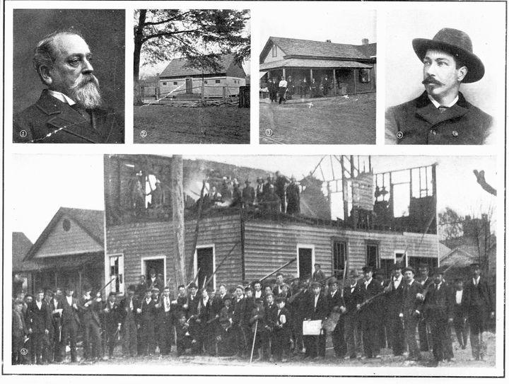 Race riots occurred in in Wilmington, North Carolina, in 1898.