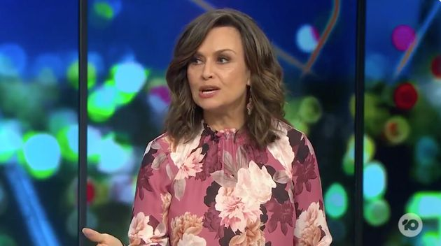 Lisa Wilkinson took aim at President Donald Trump on Thursday evening following the riots at the US