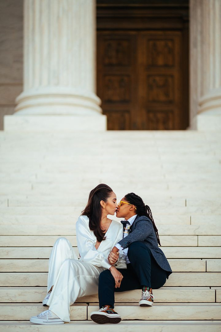 """The couple called their elopement """"a bright spot amid the heaviness of 2020."""""""