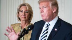 La ministre Betsy DeVos lâche Trump et l'incrimine pour les violences du