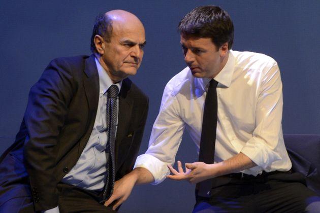 """Bersani: """"Non è che Renzi sia"""
