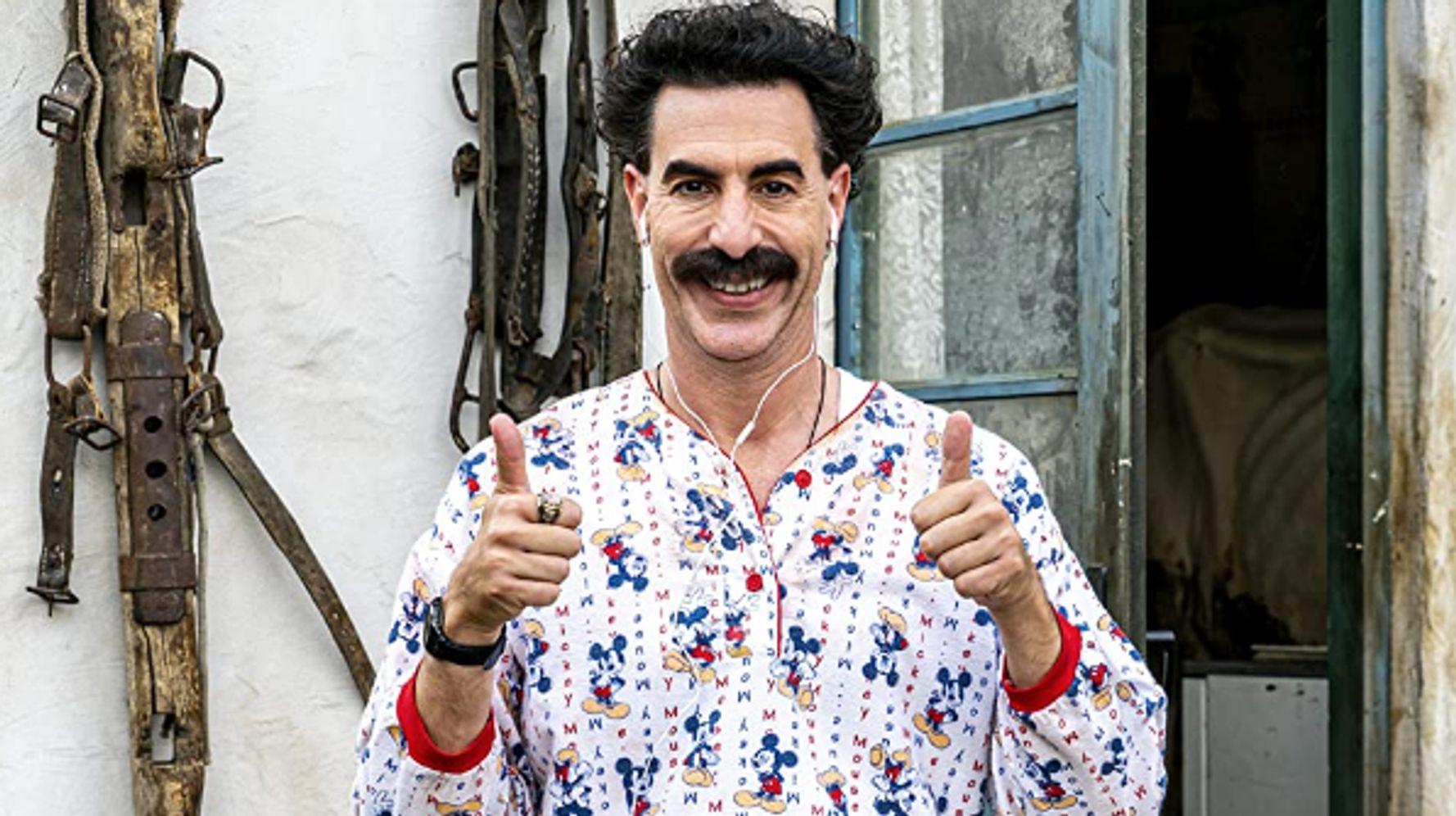 Borat ne reviendra pas, Sacha Baron Cohen l'a enfermé