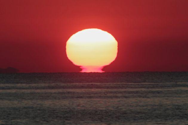 Ελλάδα - Ηλιοβασίλεμα στο
