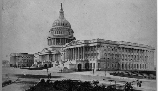 Η αρχιτεκτονική ιστορία του Καπιτωλίου μέσα από σπάνιες