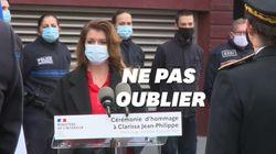 Marlène Schiappa et le maire de Montrouge rendent hommage à Clarissa