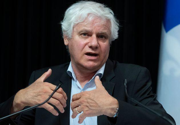 Dr Richard Massé, conseiller médical stratégique à la Direction générale...