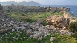 Κάστρο Μεθώνης: Κατέρρευσε τμήμα του πύργου από τη
