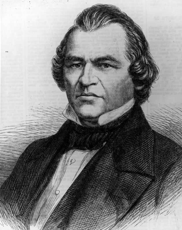 (Portrait d'Andrew Johnson (1808 - 1875). Photo par Hulton Archive/Getty