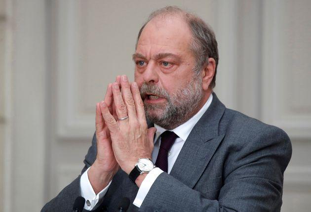 Le ministre de la Justice Éric Dupond-Moretti (ici le 9 décembre 2020 lors d'une conférence...