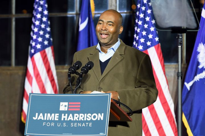 Jaime Harrison, who set fundraising records in his Senate campaign against Republican Lindsey Graham in 2020, will serve as t