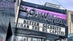 Vancouver Strip Club Can't Resist A Dig At U.S. Capitol