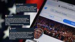 Trump banni de Twitter: Ces élus français crient à la censure et à l'abus de