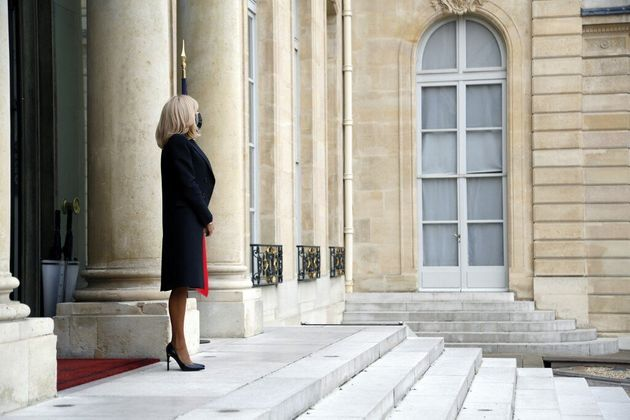 Brigitte Macron testée positive au Covid-19 pendant les fêtes (photo d'illustration prise...