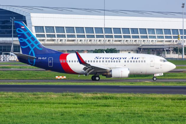 The Boeing 737-500, like the one pictured here, took off from Jakarta at about 1:56 p.m. and lost contact...
