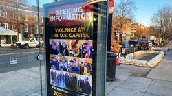 Pour retrouver les auteurs des violences au Capitole, les autorités américaines les affichent dans les arrêts de