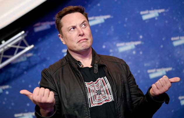 Tesla CEO Elon Musk, pictured at the Axel Springer Awards ceremony in Berlin, Germany, Dec. 1, 2020,...