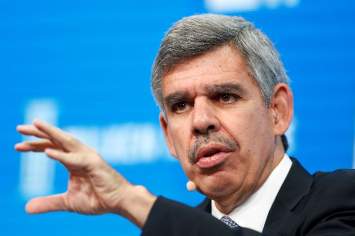 """Mohamed El-Erian, chief economic advisor at Allianz, says the current """"rational bubble"""" in asset prices will likely continue so long as central banks keep propping the markets up."""