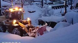 【北陸で大量積雪】糸魚川市では一晩で59cmも。昼間の外出も危険