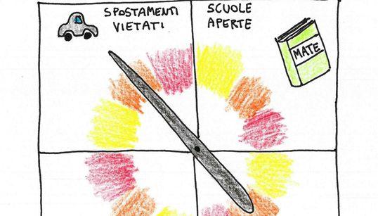 Italia divisa in colori (di C.