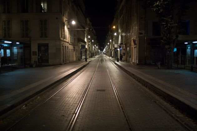Durant le premier confinement, les rues de Marseille étaient désertes le
