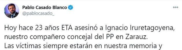Tuit de Pablo