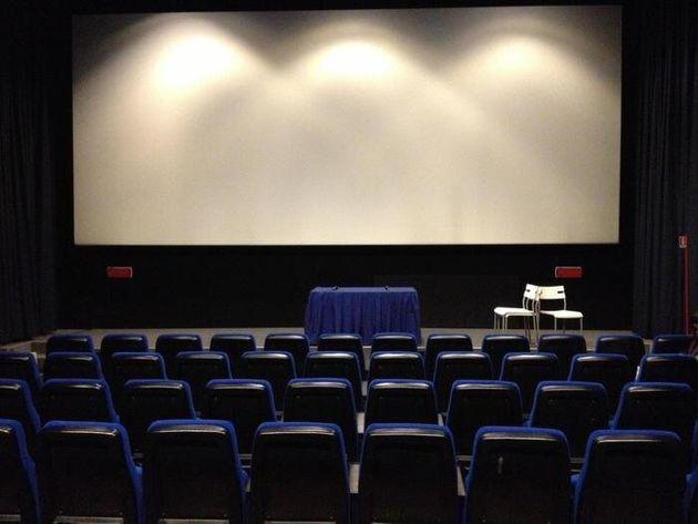 L'interno di una sala cinematografica, Roma, 16 gennaio 2013. ANSA/ FRANCESCO