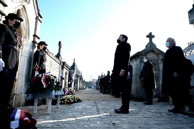 Le 8 janvier, Emmanuel Macron a présidé un hommage à François Mitterand....