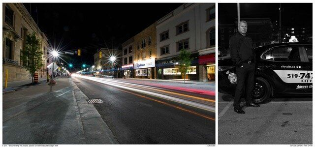 A photo in the 5 a.m. project: Derek - Taxi Driver - City Cabs.