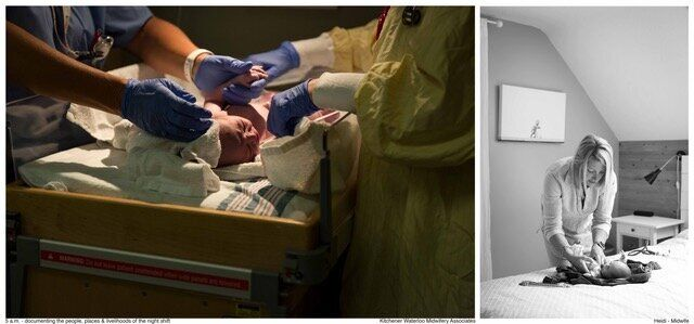 A photo in the 5 a.m. project: Heidi - Midwife - KW Midwifery.