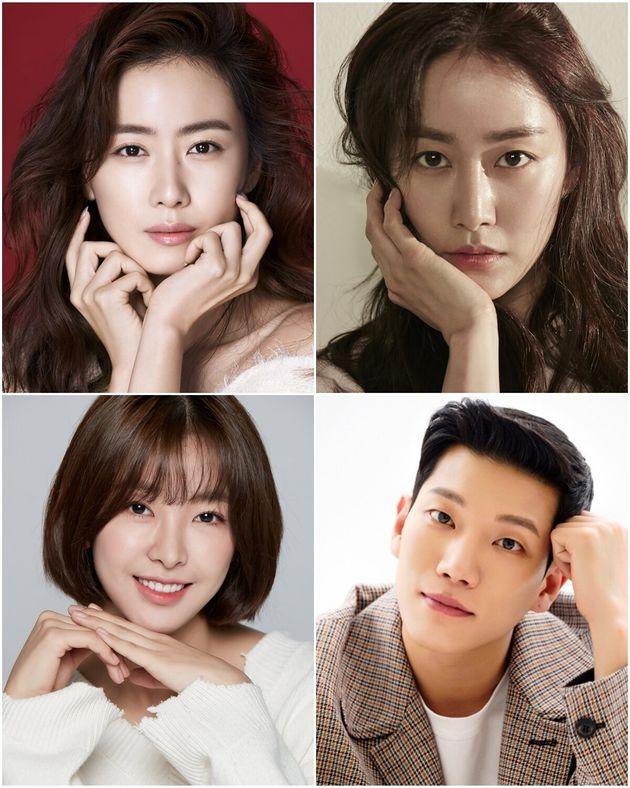 KBS 2TV '오케이 광자매' 출연 확정한 배우 홍은희 전혜빈 고경남 고원희(왼쪽 위부터
