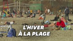 Une vague de chaleur pousse les Grecs à la plage malgré le