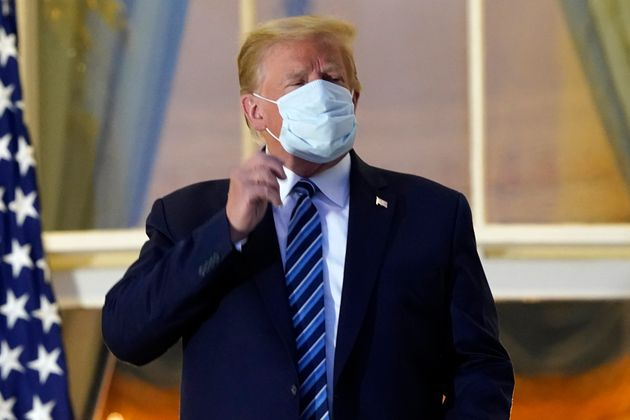 El todavía presidente Donald