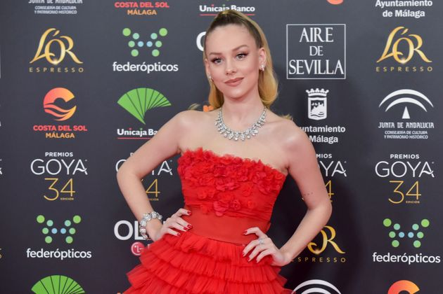 Ester Expósito en los Premios Goya de 2020 (Photo by Juan Naharro