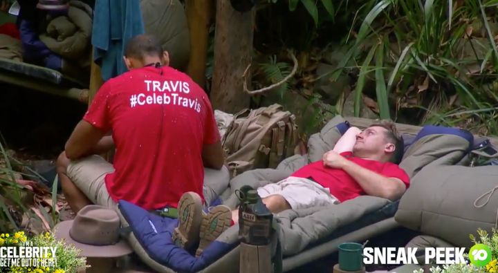 'I'm A Celebrity... Get Me Out Of Here!' contestants Grant Denyer and Travis Varcoe