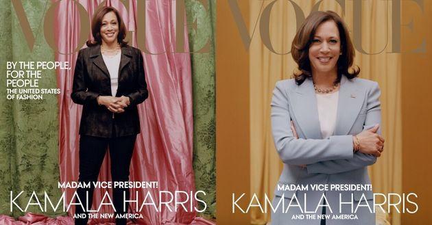 '보그' 표지를 장식한 카멀라 해리스 미국 부통령