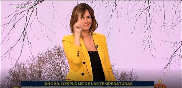 Mónica López, en