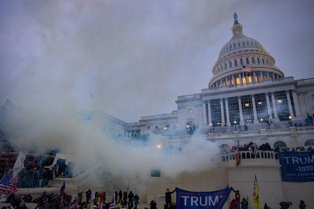 El Capitolio durante el asalto el pasado 6 de